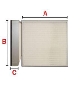 Turbo-HEPA--ULPA-Panel-Air-Filter