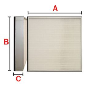 Turbo-HEPA--ULPA-Panel-Air-Filter