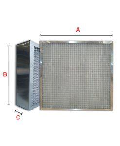 Turbo Oil-Mist Elimator with Aluminum Media (Model TOA-Series)