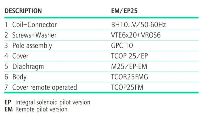 B3 FLANGED PULSE VALVES E Series