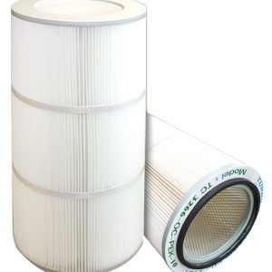 Spun bonded Polyester Air Cartridge Filter (PR Media)