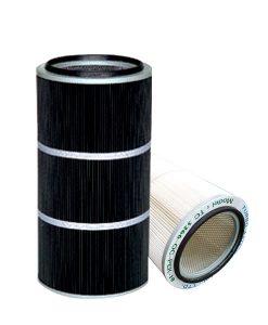 Spun bonded Polyester Air Cartridge Filter with PTFE Media