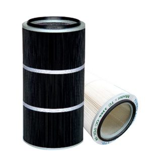 Spun bonded Polyester Air Cartridge Filter with PTFE Media