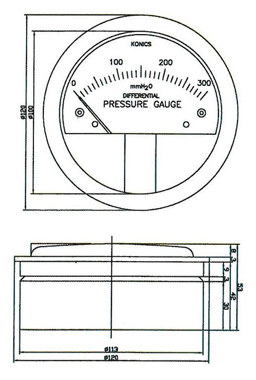 Turbo-Manometer-Gauge-(Model-TG-2000)